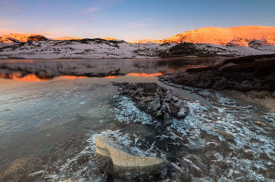 Belmeken Lake In Rila National Park - Bulgaria