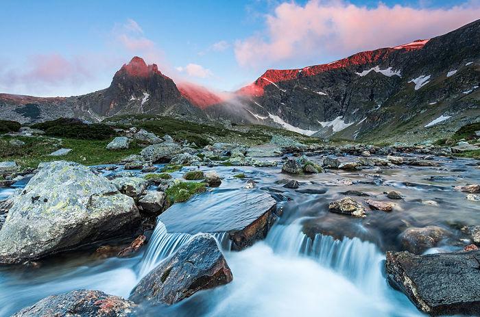 Haramiata Peak At Sunset – Nature Park Rila – Bulgaria