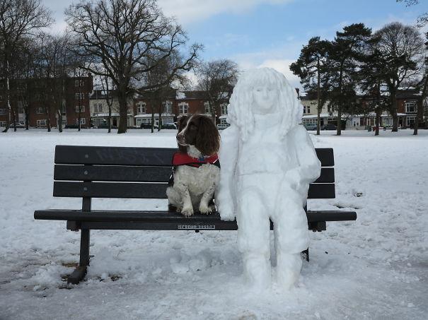 Snow Woman & Willow