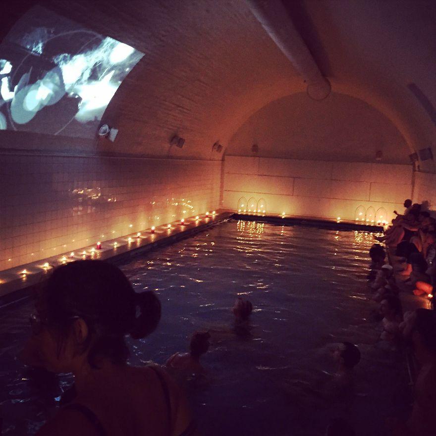 Bath House Cinema For Cinema Queer In Stockholm, Sweden