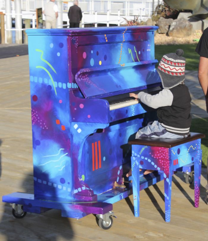 Paihia Piano, Bay Of Islands, Nz.