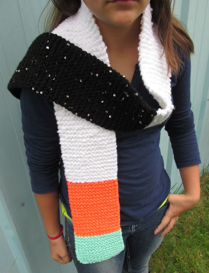 Sushi California Roll Scarf