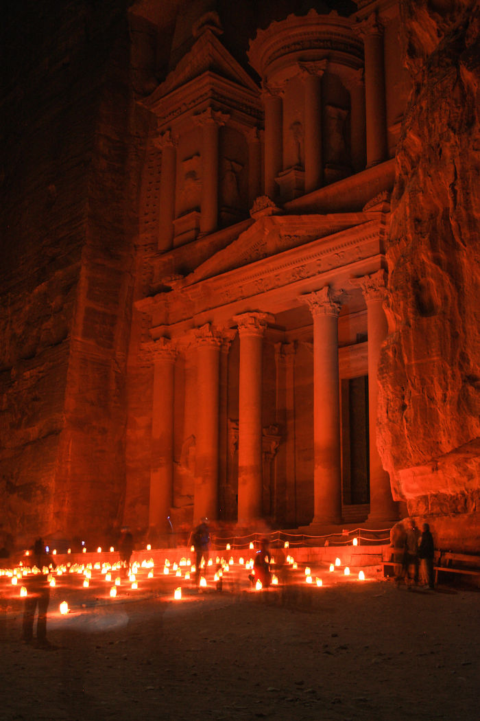 Petra, The Rose-red Desert Stone City