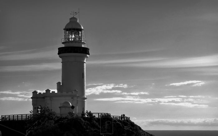 Cape Byron Light. Most Easterly Point On The Australian Mainland