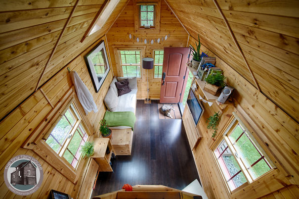 Chris And Malissa's Small Home On Wheels