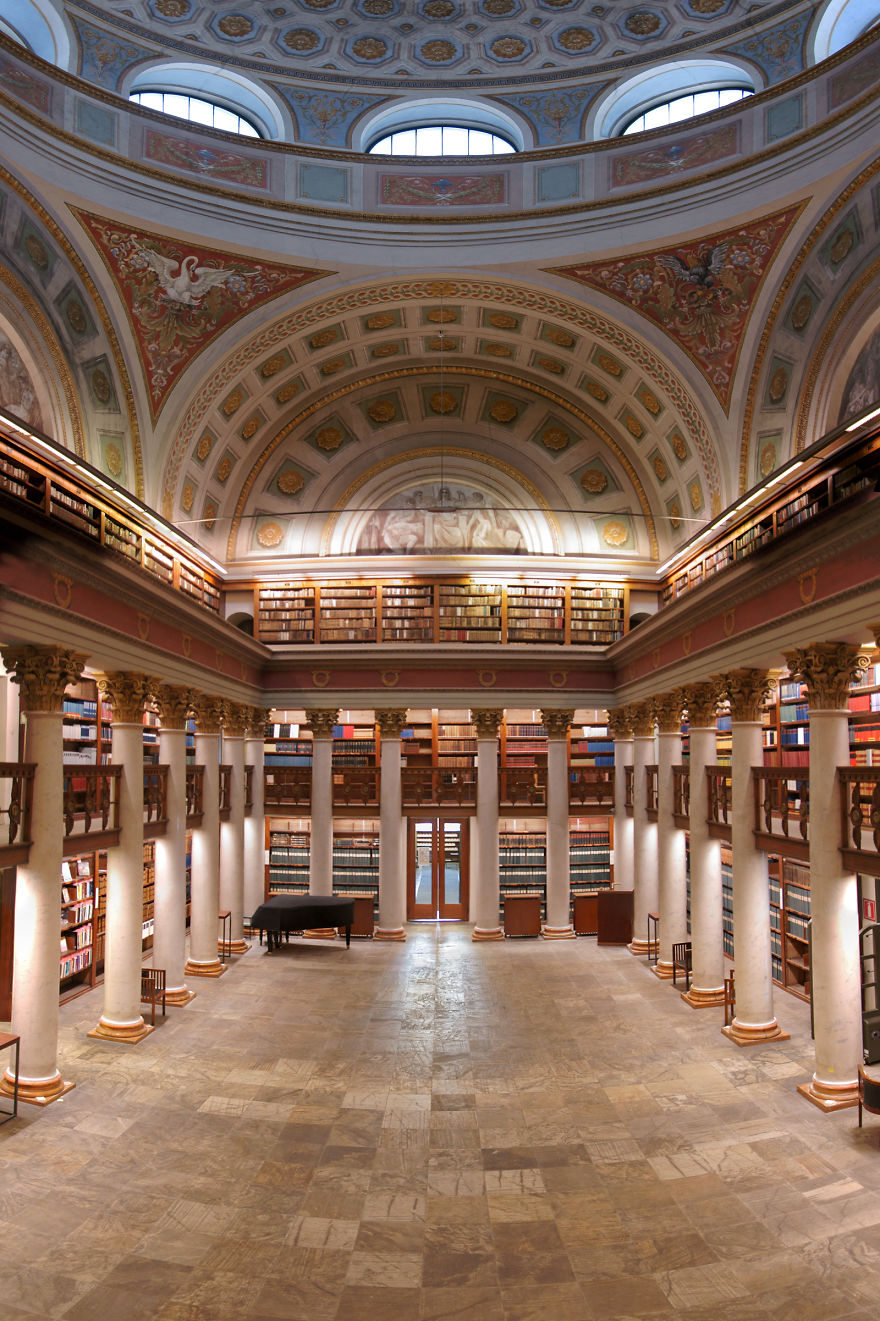 The National Library Of Finland, Helsinki, Finland