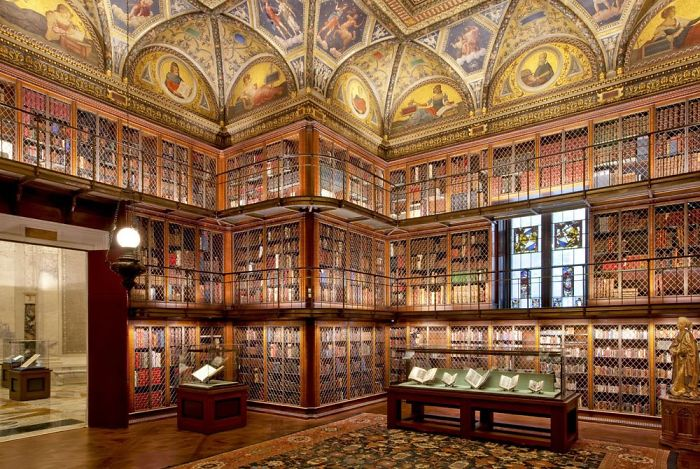Jp Morgan Library, New York, Ny