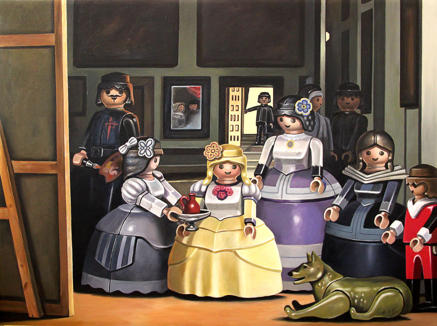 I Reimagine Famous Paintings With Playmobil Figures As Main Characters