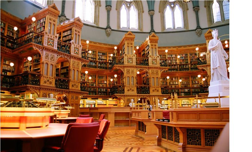 Ottawa, Canada Parliamentary Library
