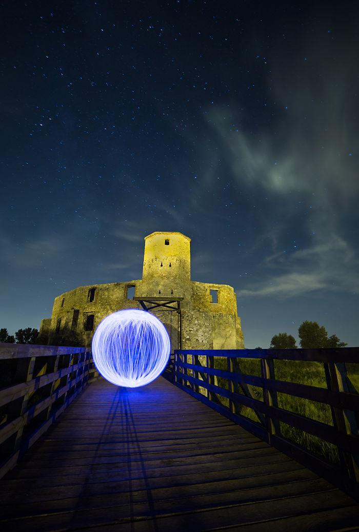 Jurrasic Castles At Night