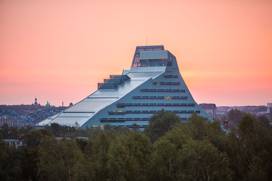 National Library Of Latvia, Riga