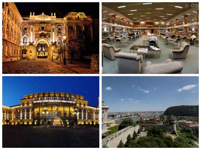 National Széchenyi Library, Budapest, Hungary