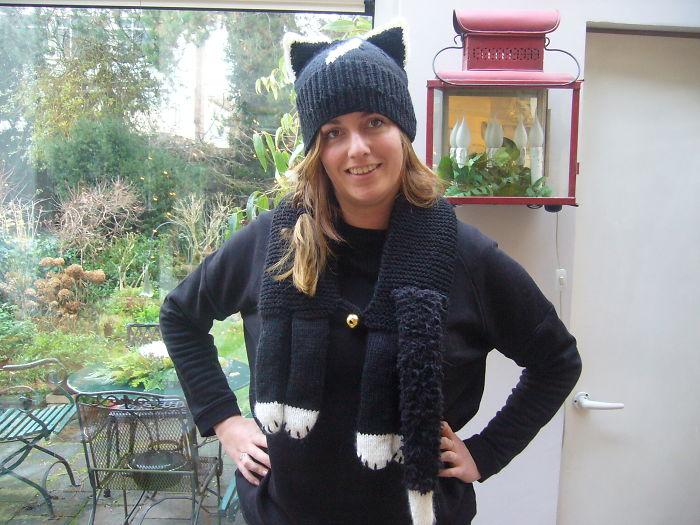 Wooly Cat Hat