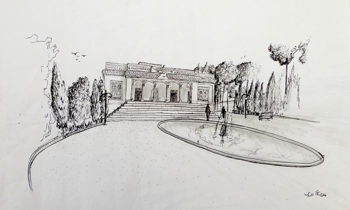 Paintings And Sketching Of Historical Places Of My City, Yazd