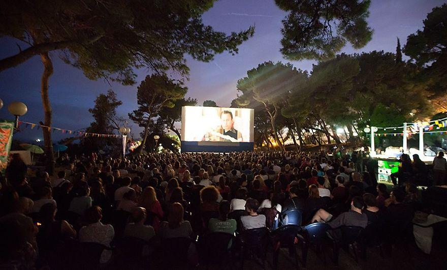 Summer Cinema Bačvice, Split, Croatia (mediterranean Film Festival Split)