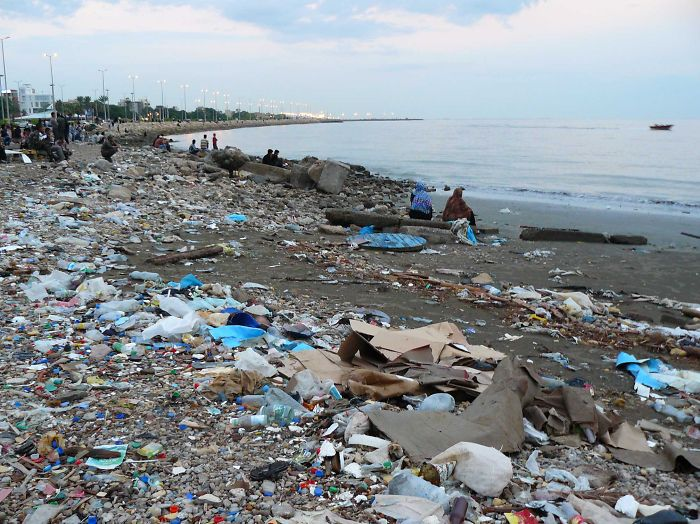 Plastic Pollution In The Persian Gulf