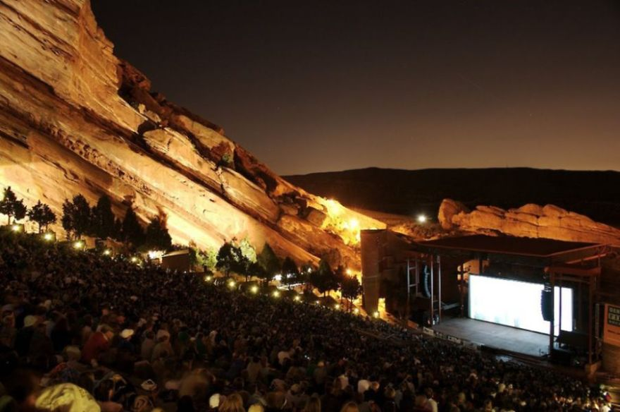 Film On The Rocks - Red Rocks - Denver, Co