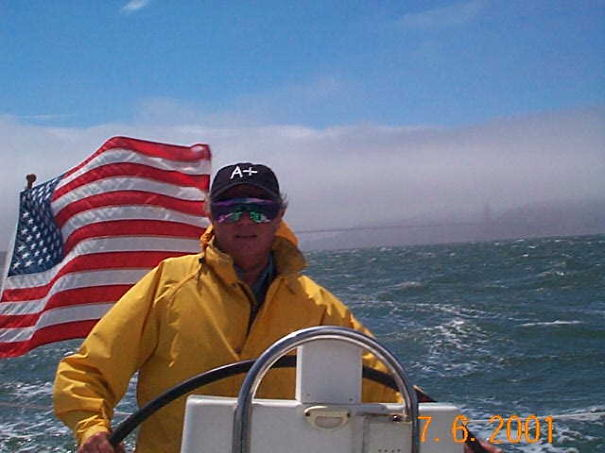 Derek Parker, 81, Sailing A 35 Ft Sail Boat On San Francisco Bay Singlehanded