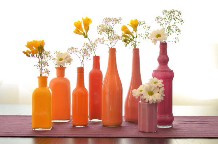 How To Paint Crystal Bottles