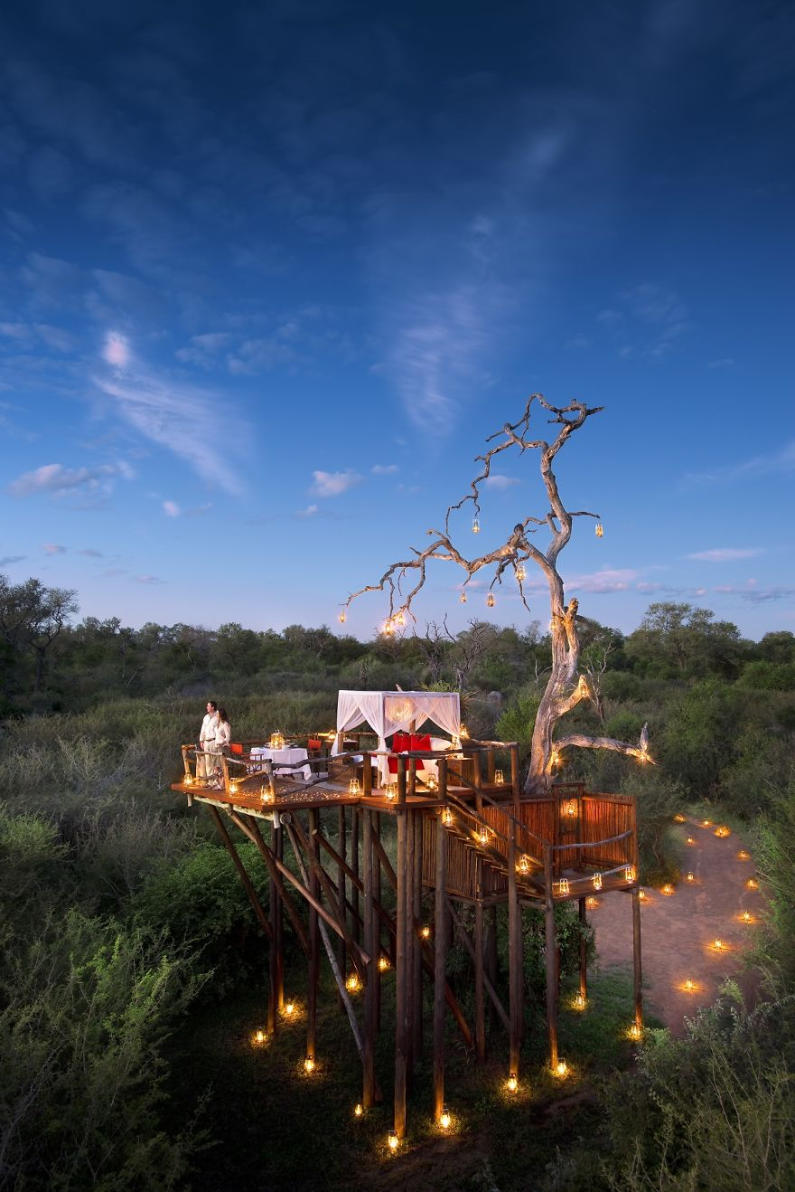 Chalkley Treehouse, Lion Sands, South Africa