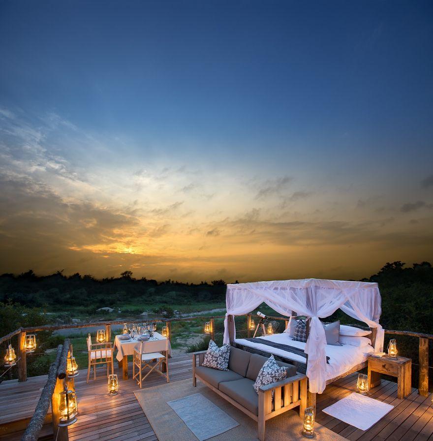 Tinyeleti Treehouse, Lion Sands, South Africa