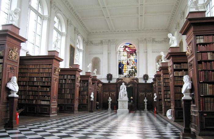 Wren Library, Trinity College, Cambridge (uk)