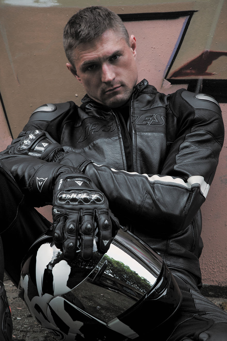 My Series Of Biker Portraits Express Identity Masculinity