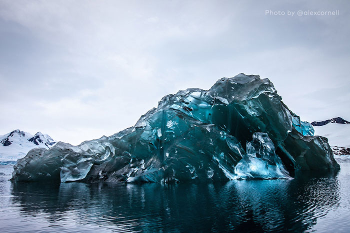 I Was Lucky To Capture A Rare Flipped Iceberg In Antarctica