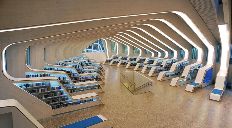Vennesla Biblioteca, Vennesla, Noruega