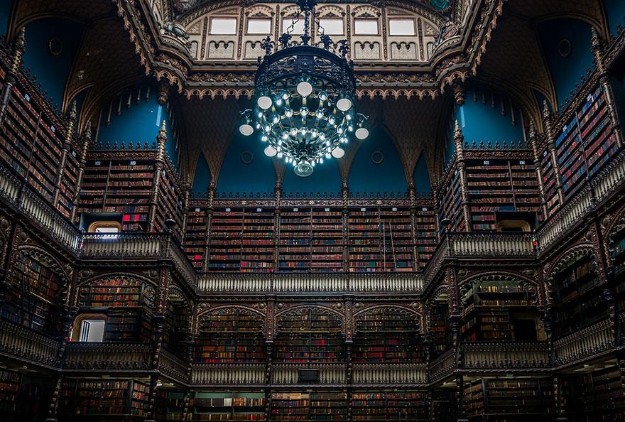 Biblioteca Real Gabinete Portugues De Leitura, Rio De Janeiro, Brazil