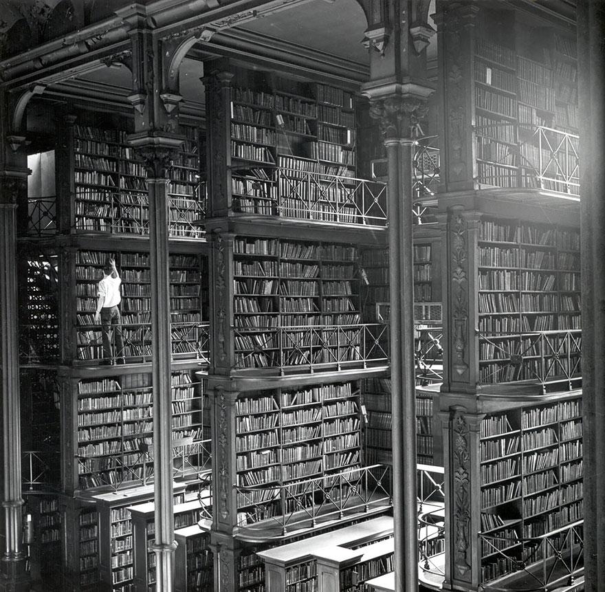 Η Παλιά Δημόσια Βιβλιοθήκη του Cincinnati, Ohio, USA