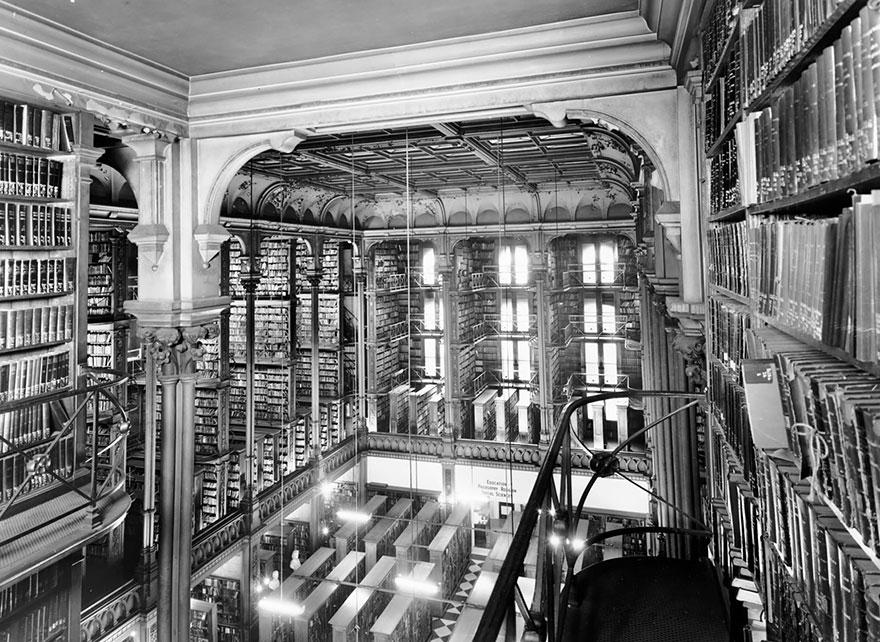 La Biblioteca Pública De Viejo Cincinnati, Ohio, Estados