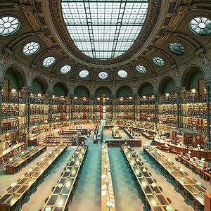 Bibliothèque Nationale De France, Paris, France