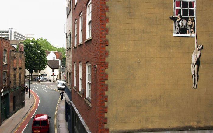 Bristol, Uk The Home Of Banksy