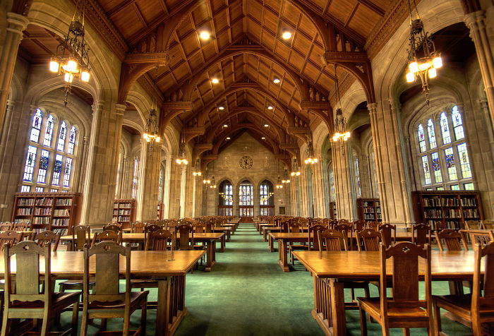 Bapst Library, Boston College