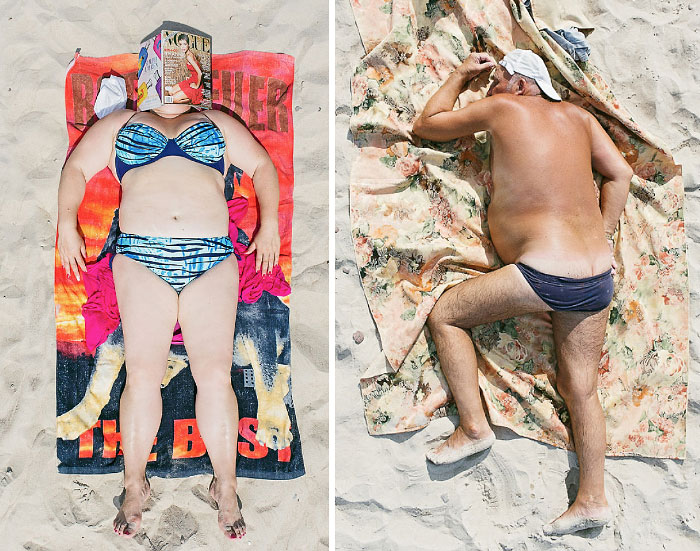 Comfort Zone: Sunbathers In All Their Glory