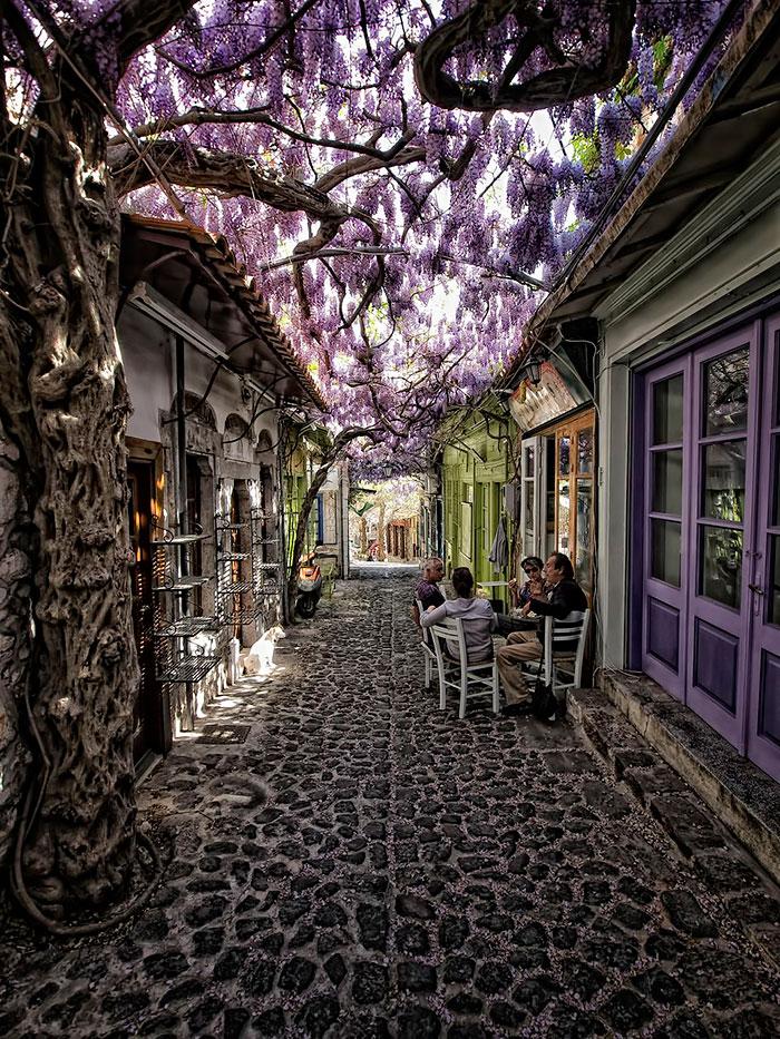 Molyvos, Lesvos, Grécia