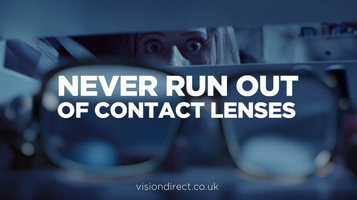 Vision Direct Launches Uk's First Tv Ad For Buying Contact Lenses Online