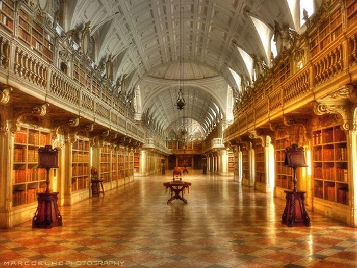 Biblioteca Do Conento De Mafra, Portugal