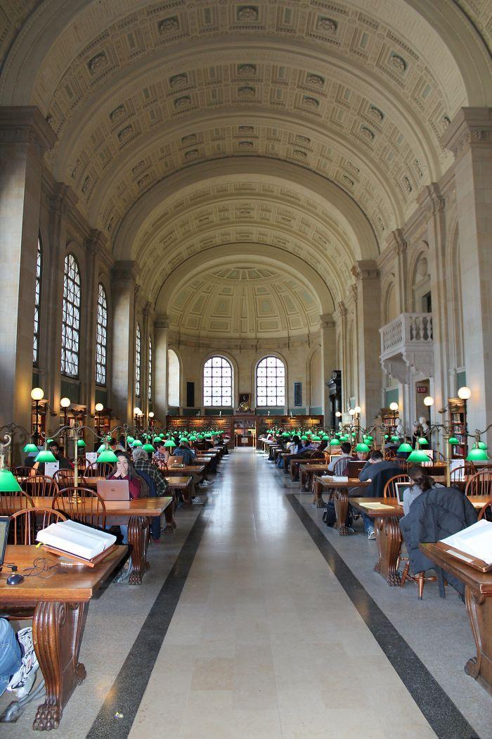 Boston Public Library, Usa