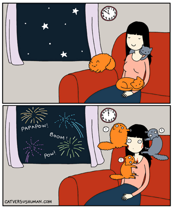 Ahh, The Quiet New Year's Eve