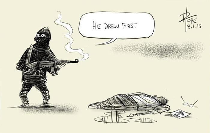 charlie-hebdo-shooting-tribute-illustrators-cartoonists-13