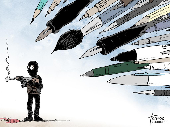 charlie-hebdo-shooting-tribute-illustrators-cartoonists-8