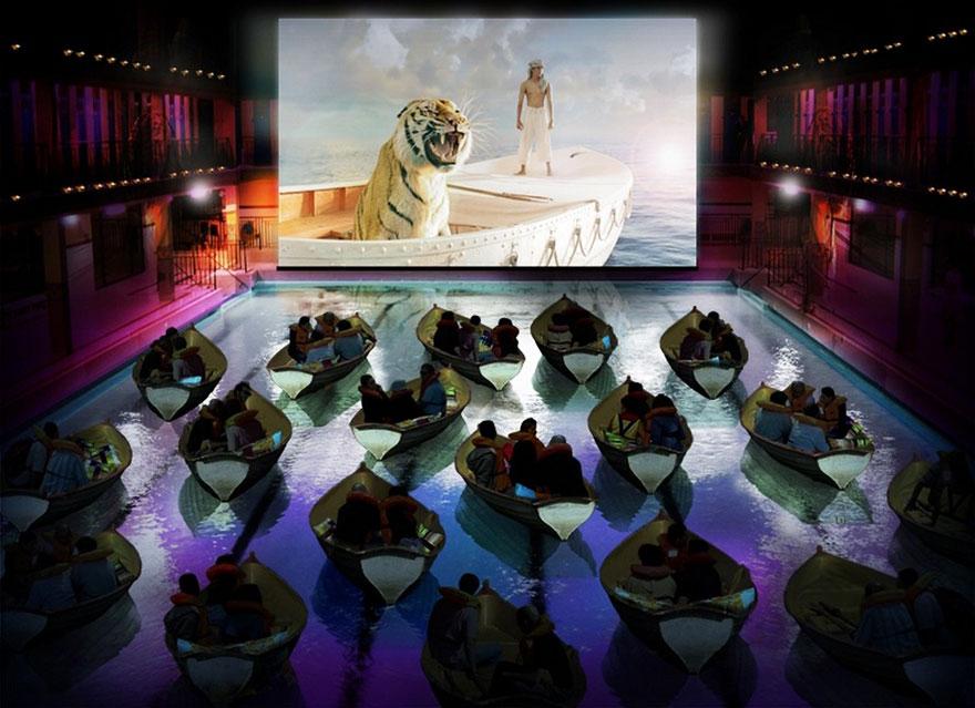 Movie Theater In Paris