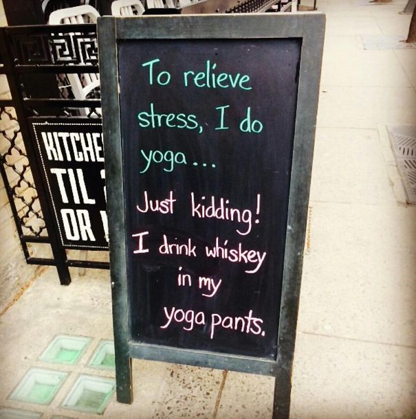 Clever Bar Signs