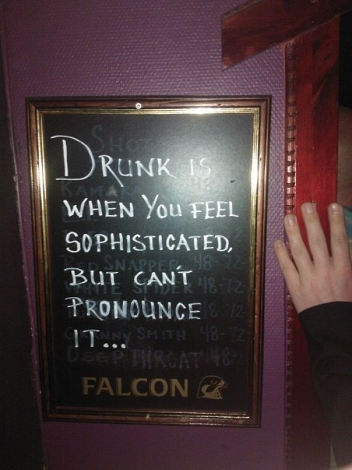 Clever Bar Signs That Will Get You In The Door
