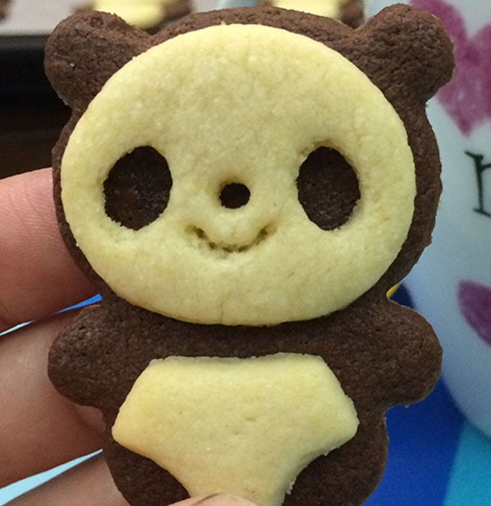 I Love Making Cute Cookies From Natural Ingredients