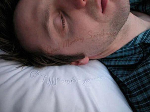 Morning Message Pillow