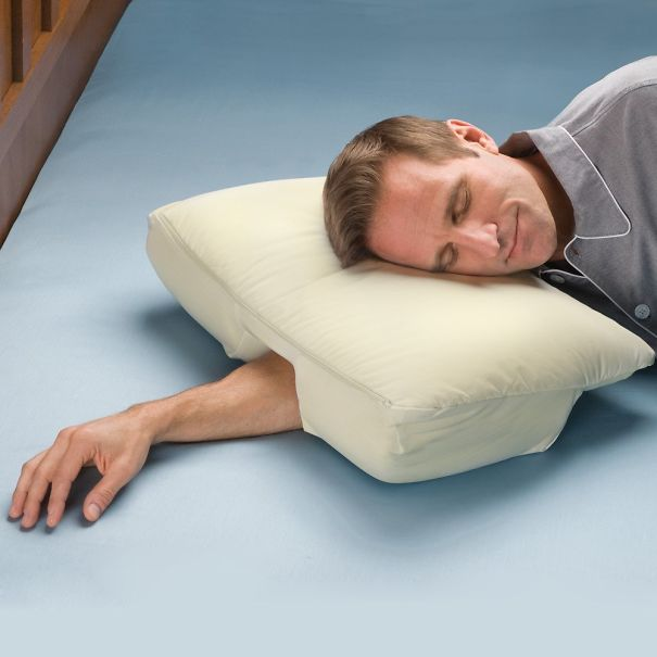 Pillow For Those Who Sleep On Their Stomach