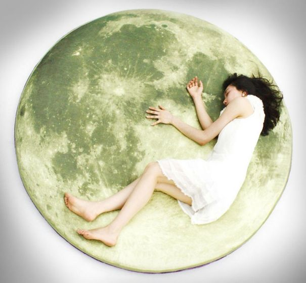 Giant Moon Floorpillow